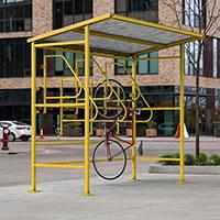 standard bike racks