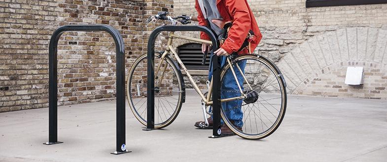 standard bike racks by american bicycle security company
