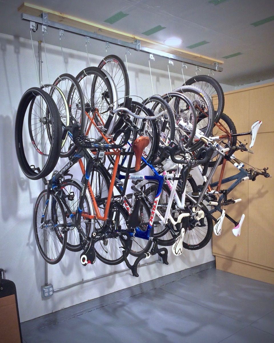 bike settings surfaces outdoor racks forms twist rack