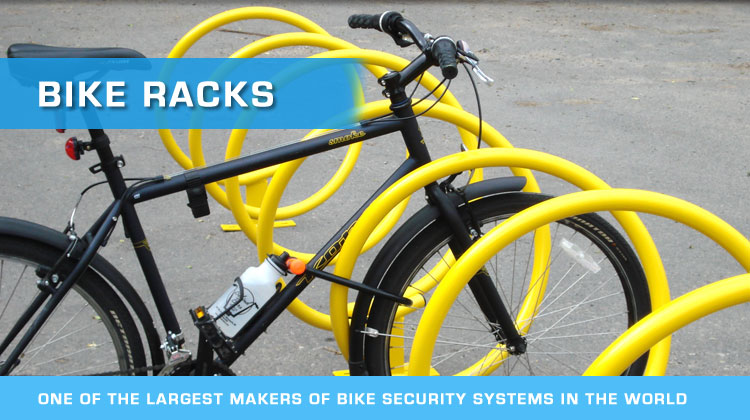 bike racks by american bicycle security company