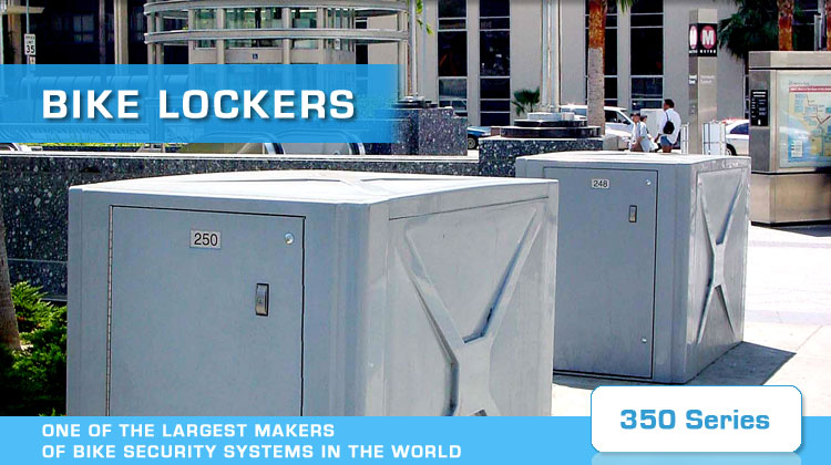 american bycicle security bike lockers 350 series