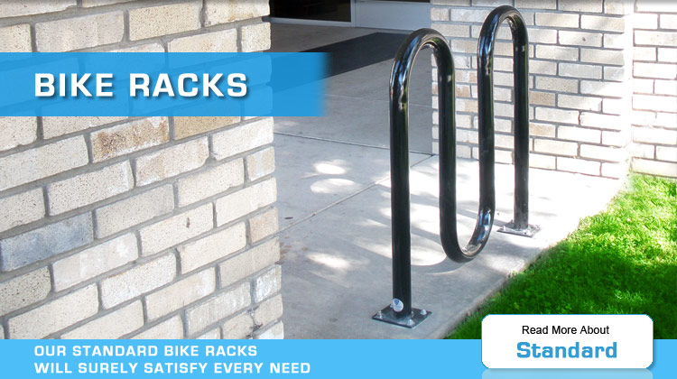 standard and traditional bike racks by American Bicycle Security Company
