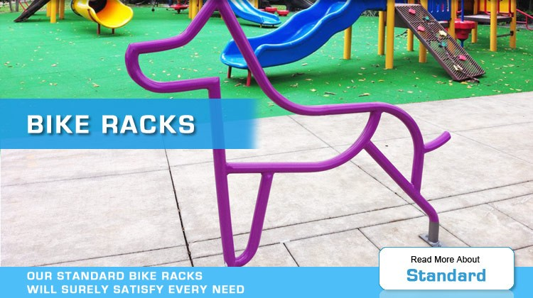 standard bike racks by american bicycle security