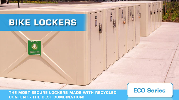 Bike Lockers For Sale Eco Series of Bike Lockers