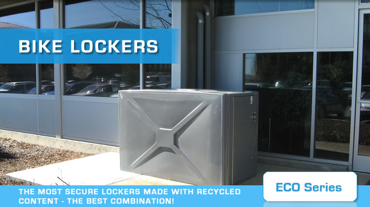 bike lockers eco series