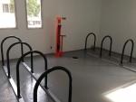 Lex on Orange, Bike Rack Room